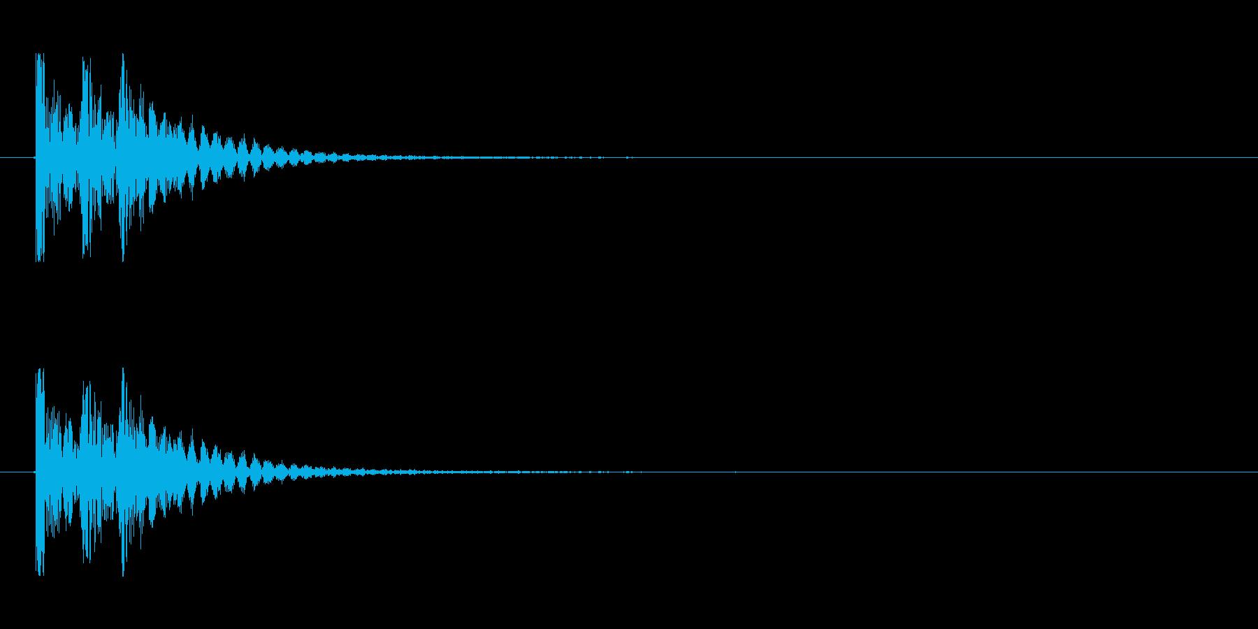 【衝撃03-3】の再生済みの波形