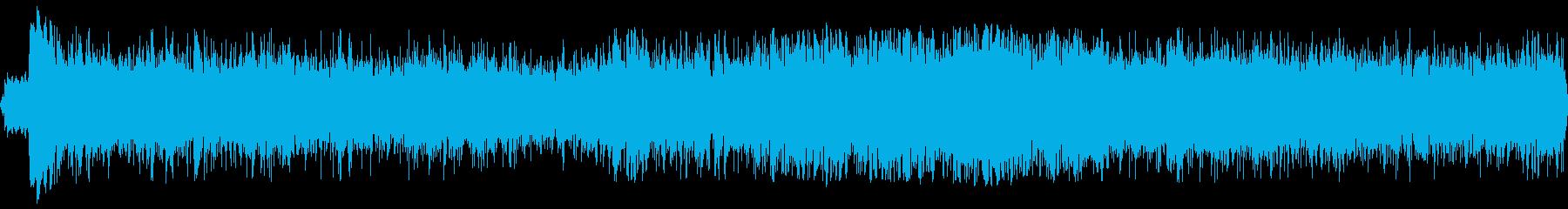 ロケットアフターバーナー火炎nの再生済みの波形