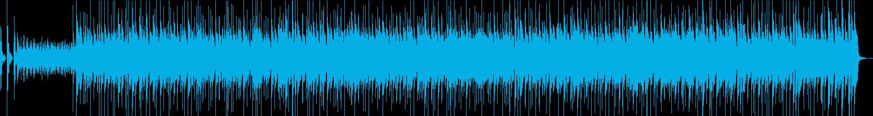 秒合わせロッキー系筋トレ動画用2分BGMの再生済みの波形