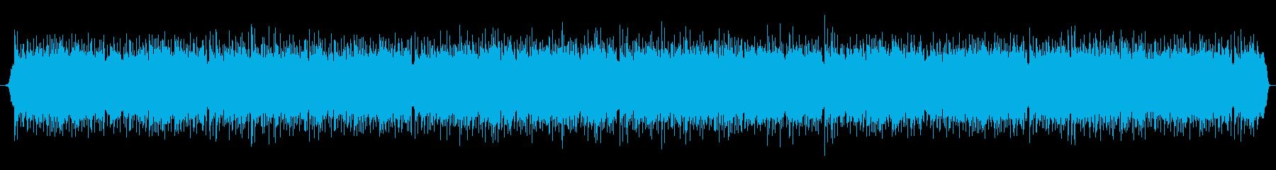 ほのぼのした雰囲気のスローバラードの再生済みの波形