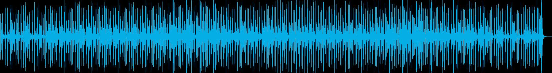コミカル・不思議・軽快・ゲーム・映像用の再生済みの波形
