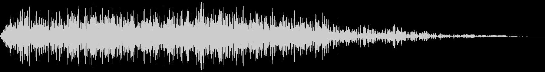 ゴブリンの鳴き声(人間大のモンスター)の未再生の波形