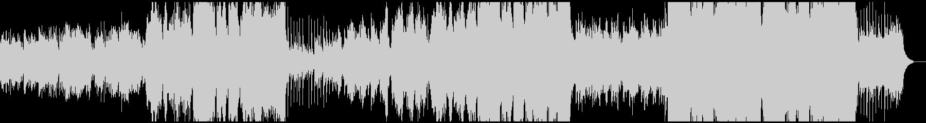 尺八三味線が日本の風景をイメージさせる曲の未再生の波形