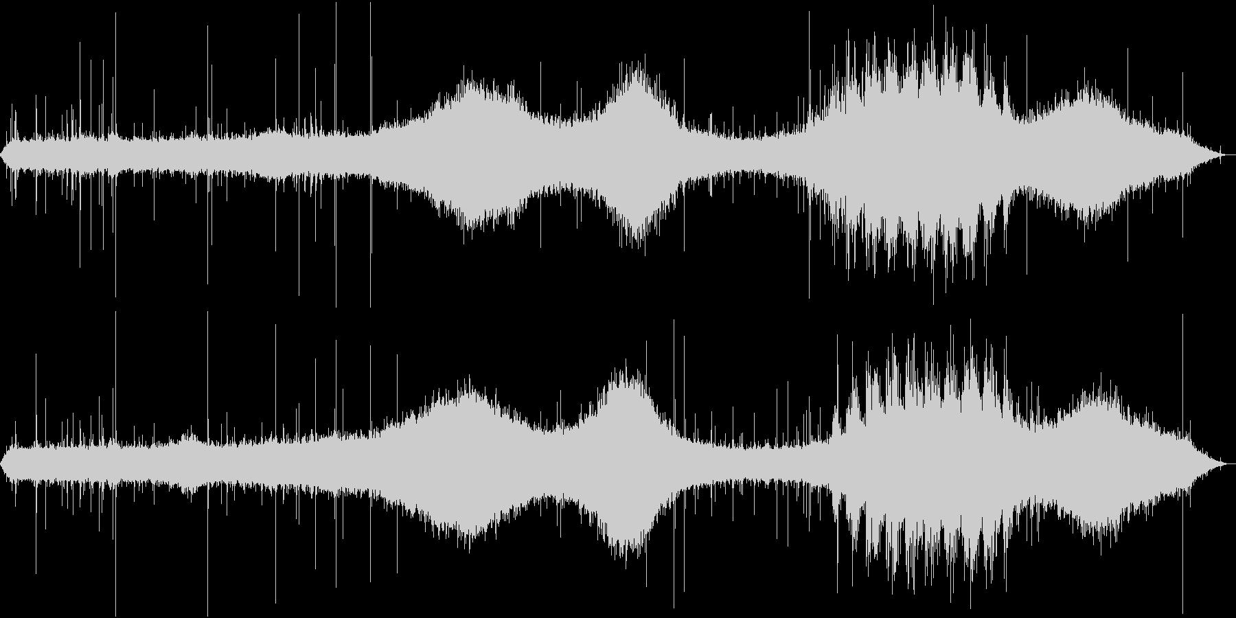 【生録音】街に降る綺麗な雨の音 1 の未再生の波形