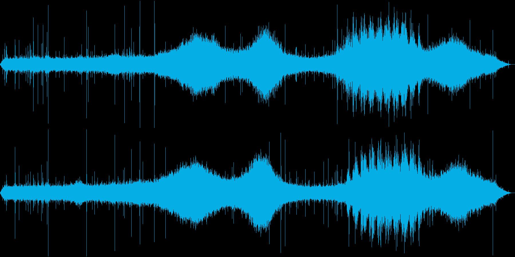 【生録音】街に降る綺麗な雨の音 1 の再生済みの波形