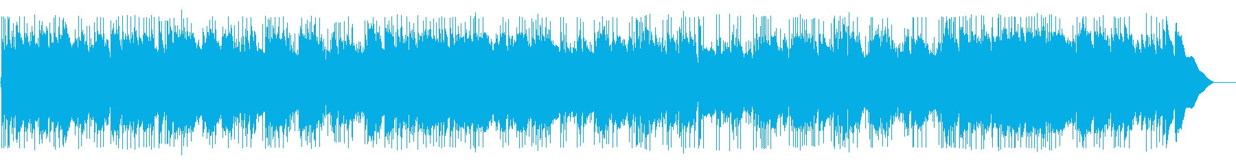 A cool and bright acoustic sound's reproduced waveform