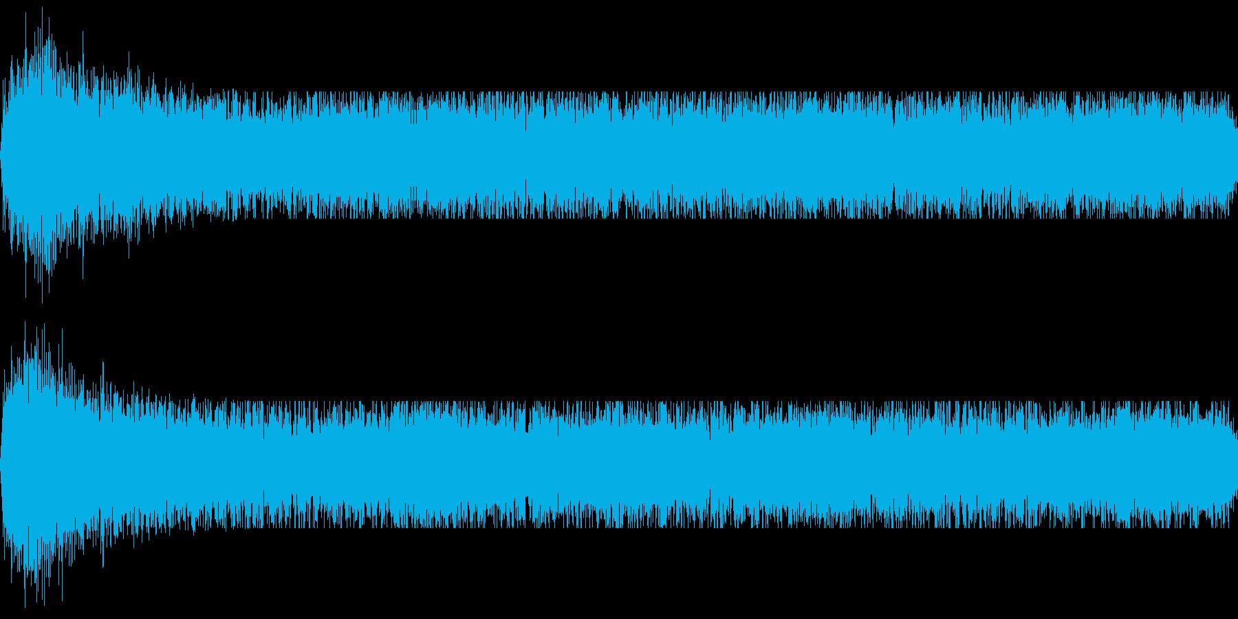 暗黒のオーラ(邪悪なエネルギー)の再生済みの波形