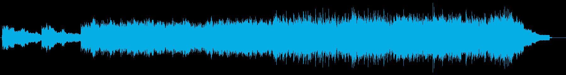 アコギを使用した透明感のある曲、映像等にの再生済みの波形