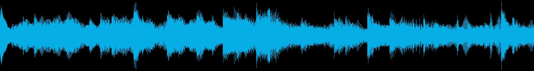 壮大で優雅なクラシカル風BGMの再生済みの波形