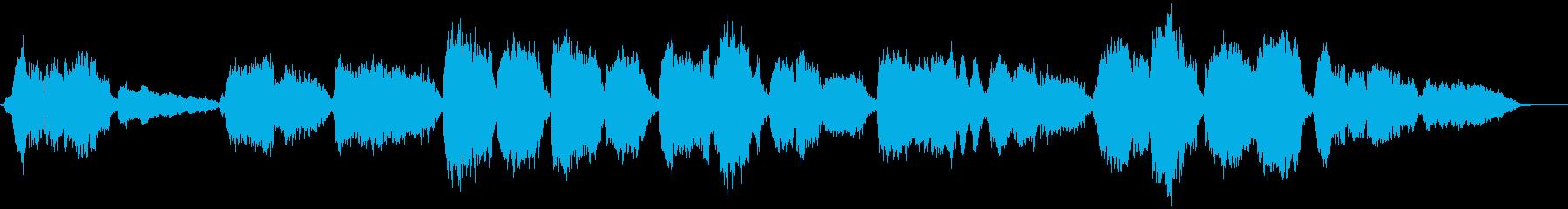 アカペラによる定番クリスマスソングの再生済みの波形