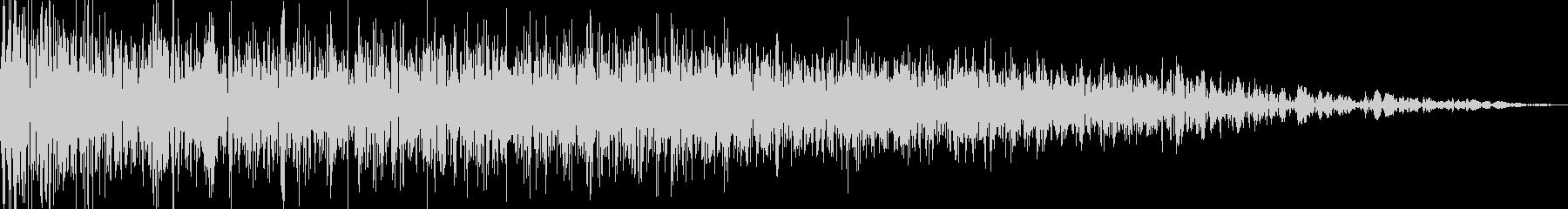 ロボット足音 タイプ12の未再生の波形