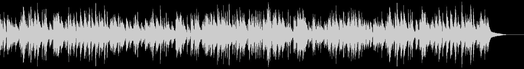 お洒落でキャッチーなジャズピアノトリオ8の未再生の波形