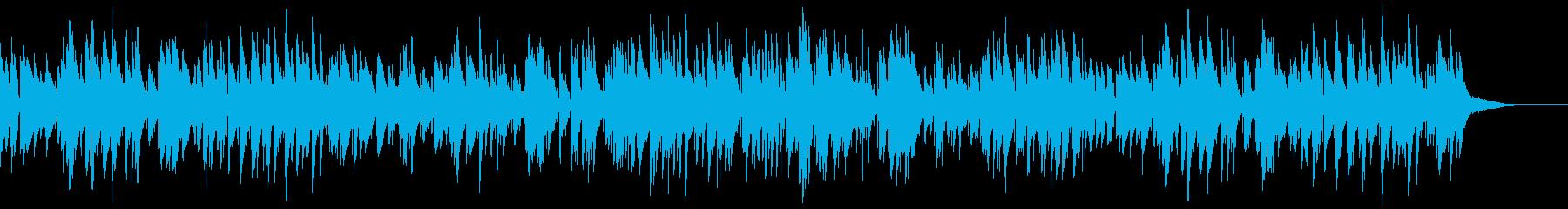 お洒落でキャッチーなジャズピアノトリオ8の再生済みの波形