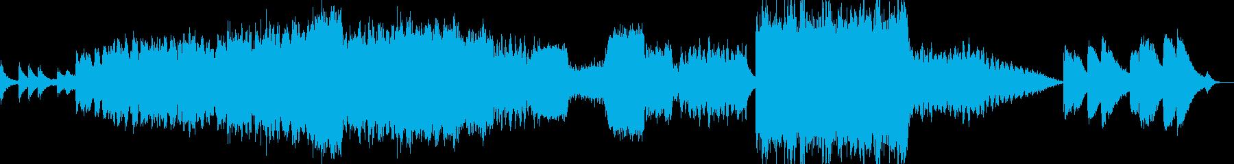 【ゲーム】冒険の始まりに合うオーケストラの再生済みの波形