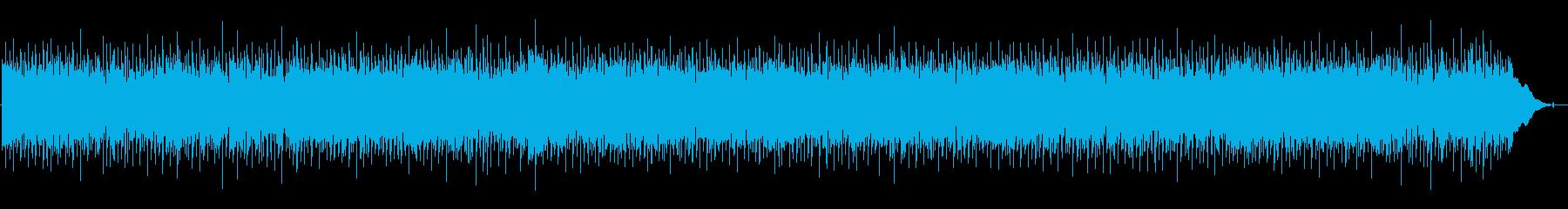 ハードなロックの再生済みの波形
