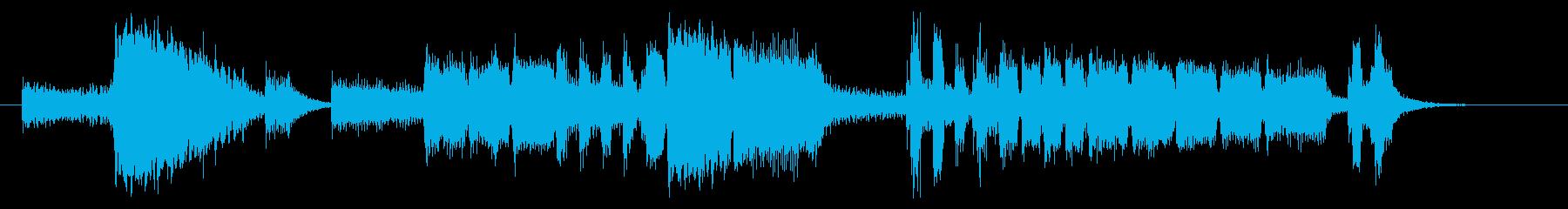 ホーンセクションおしゃれジングル 10秒の再生済みの波形