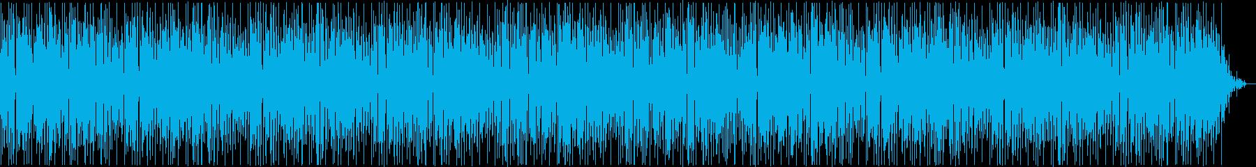 レトロな雰囲気あるピアノメロディーの再生済みの波形
