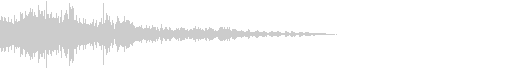 衝撃 金属音 恐怖 震撼 ホラー 20の未再生の波形