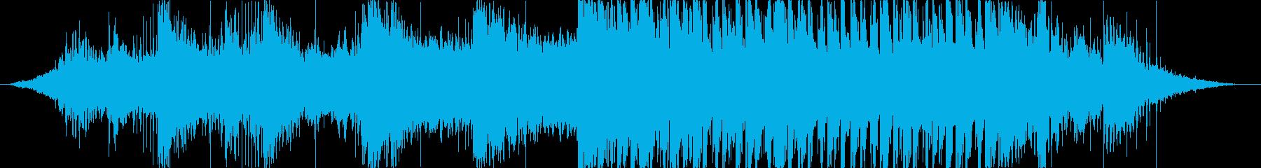 動画 アクション 技術的な adv...の再生済みの波形