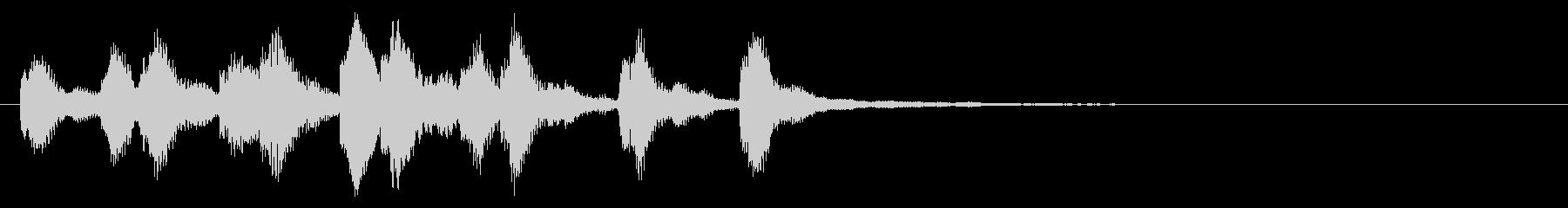 のほほんジングル033_コミカルの未再生の波形