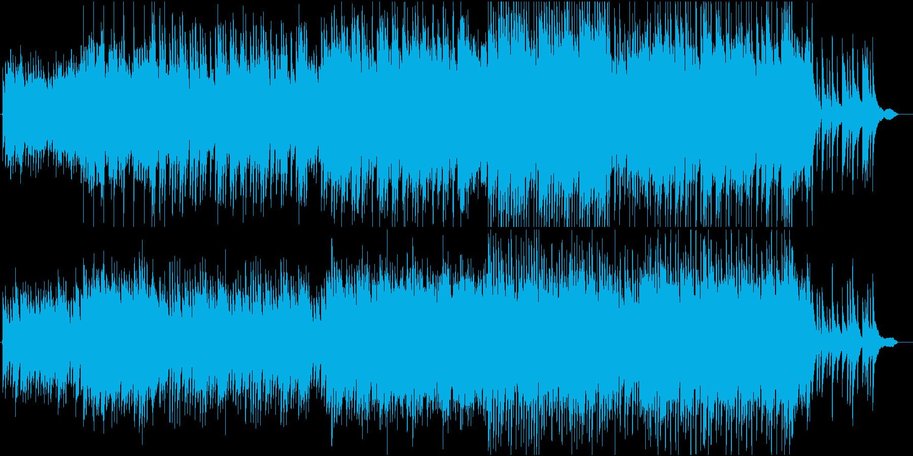 花見に行った気分になれる和風ピアノ曲の再生済みの波形