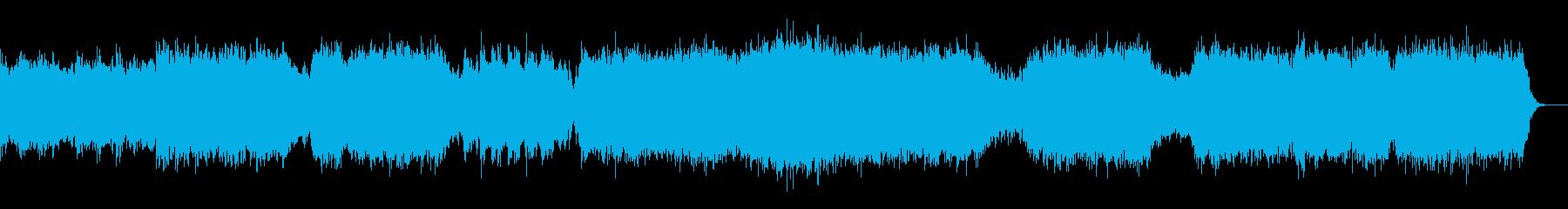 ブルックグリーン組曲より第二楽章エアーの再生済みの波形