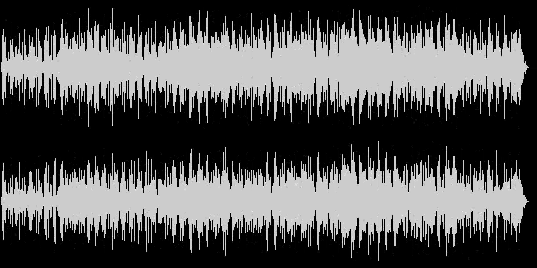 ブラス系の音色の軽快なポップスの未再生の波形
