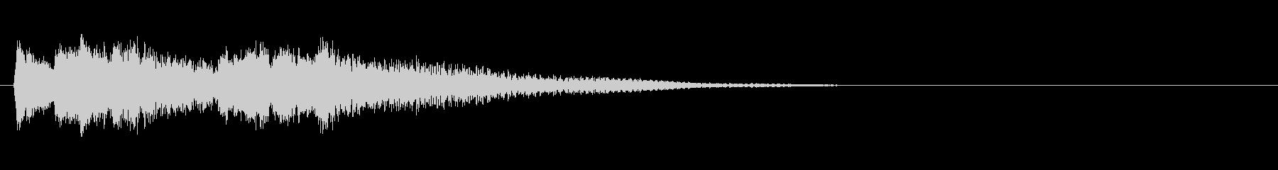 アプリやゲームに使える シャラン音の未再生の波形