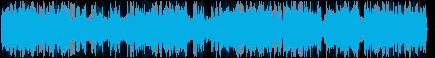 疾走感のあるアナログ和風ロックの再生済みの波形