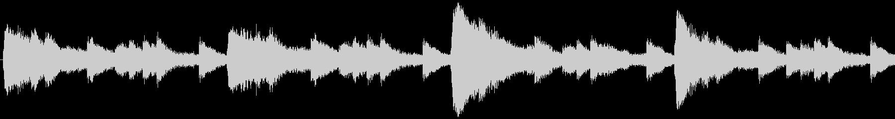 環境にやさしい事業紹介のCM曲-ループ1の未再生の波形