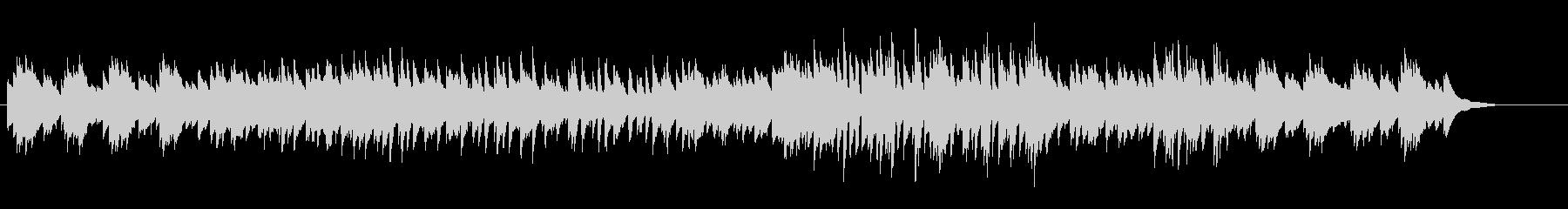 アジアン、和風なピアノの未再生の波形