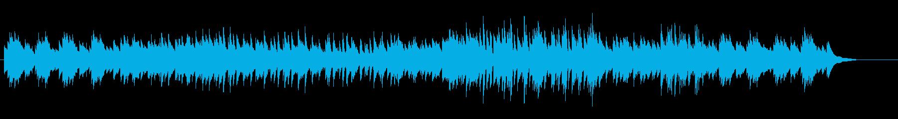 アジアン、和風なピアノの再生済みの波形