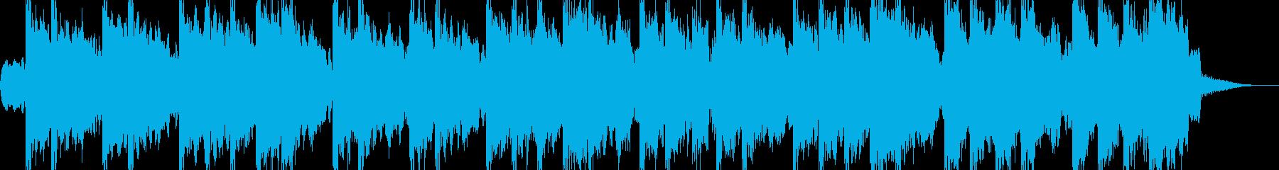 風変わりなメロディ、レトロなBGMの再生済みの波形