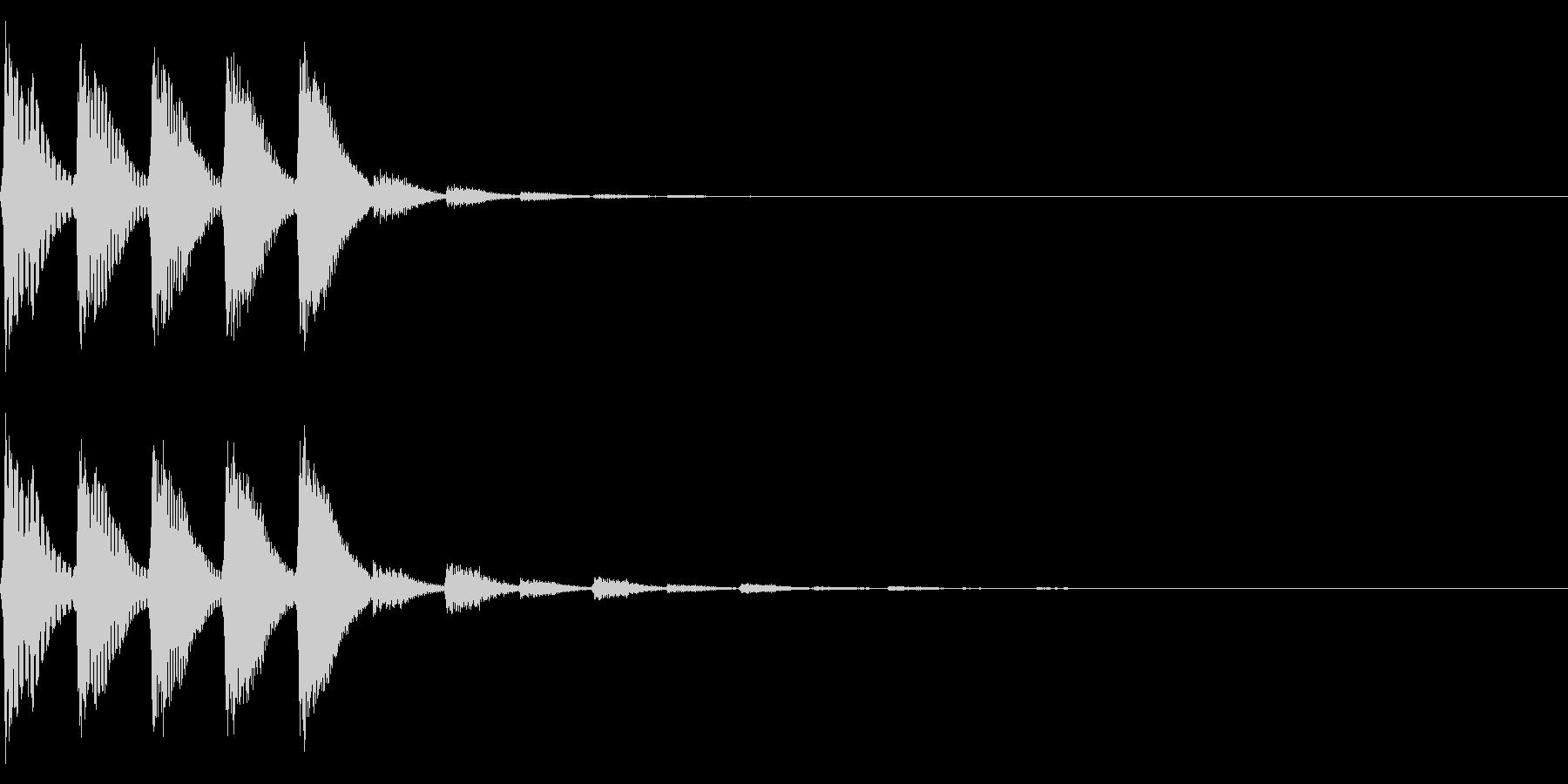パララララ(ファミコン/テクノ/幻想的の未再生の波形