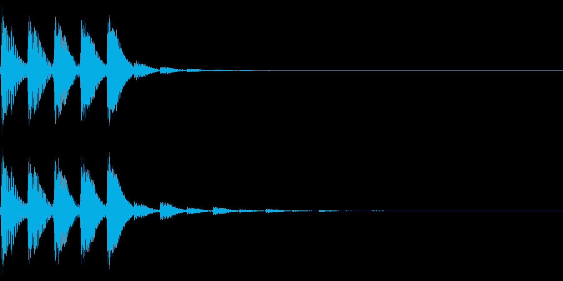 パララララ(ファミコン/テクノ/幻想的の再生済みの波形