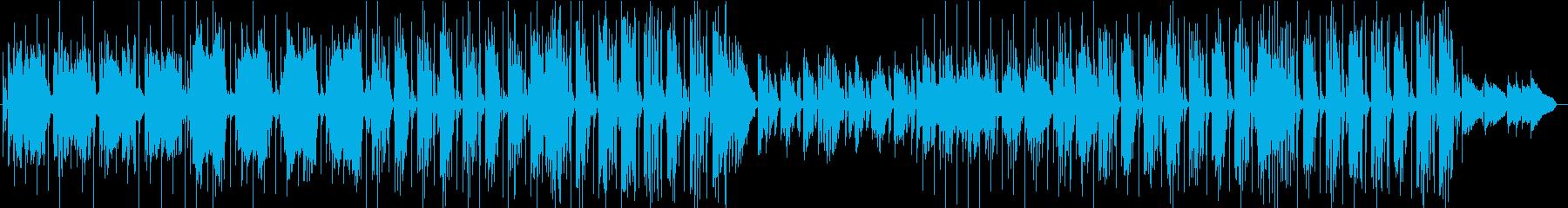 おしゃれSoul風、メロウなメロディの再生済みの波形