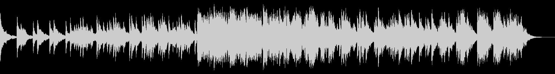 ピアノ ヒーリング 眠り の未再生の波形