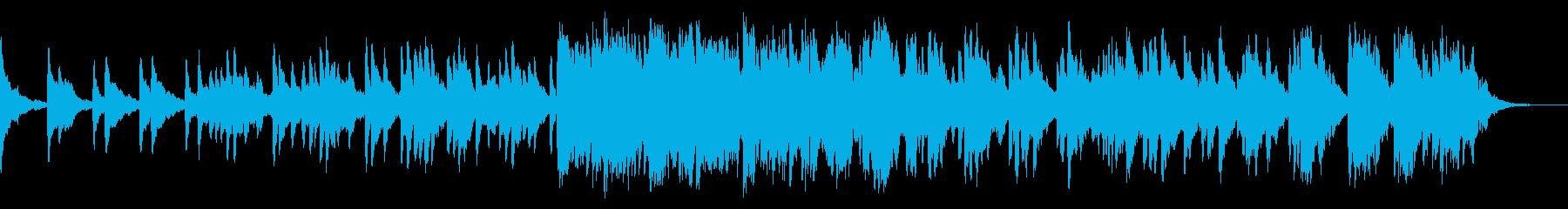 ピアノ ヒーリング 眠り の再生済みの波形