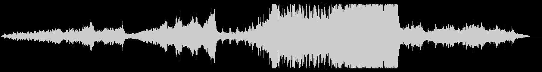 大自然壮大オーケストラ pno syn無の未再生の波形