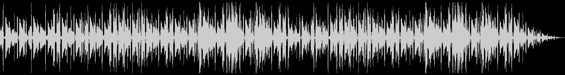 切ないネオソウルギター主体のチルホップの未再生の波形