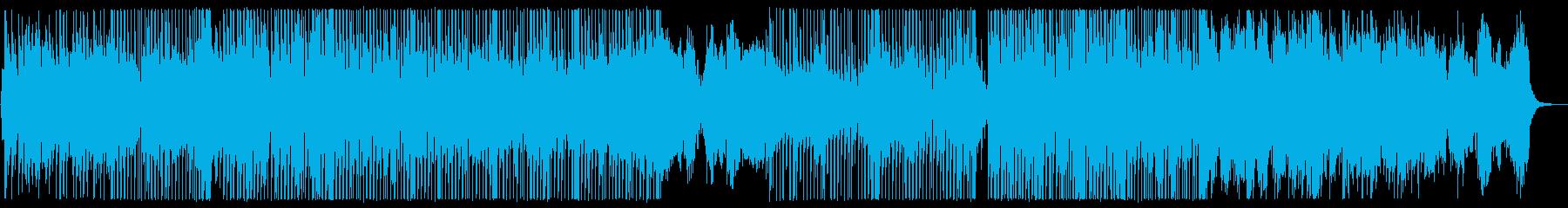 サックスがクールなクリスマスソングの再生済みの波形