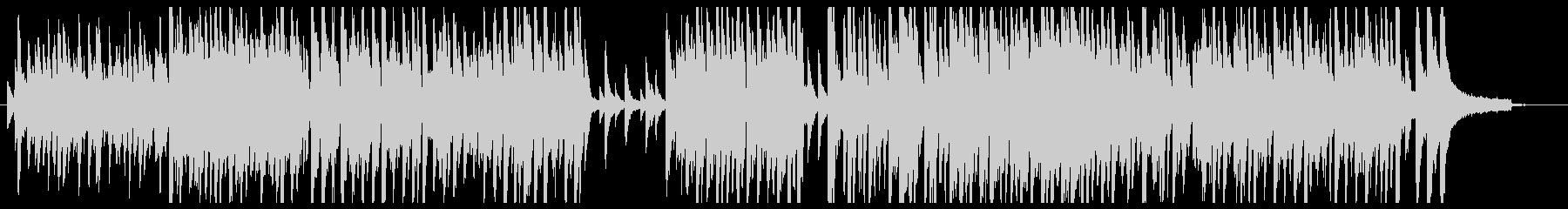 アコースティックピアノメインほんわかの未再生の波形