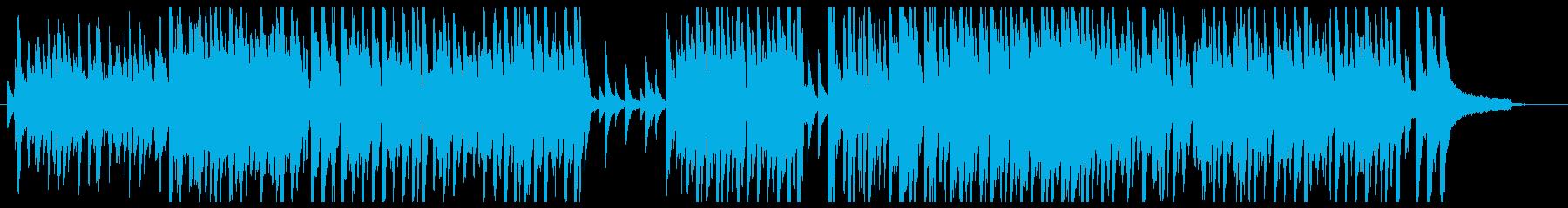 アコースティックピアノメインほんわかの再生済みの波形