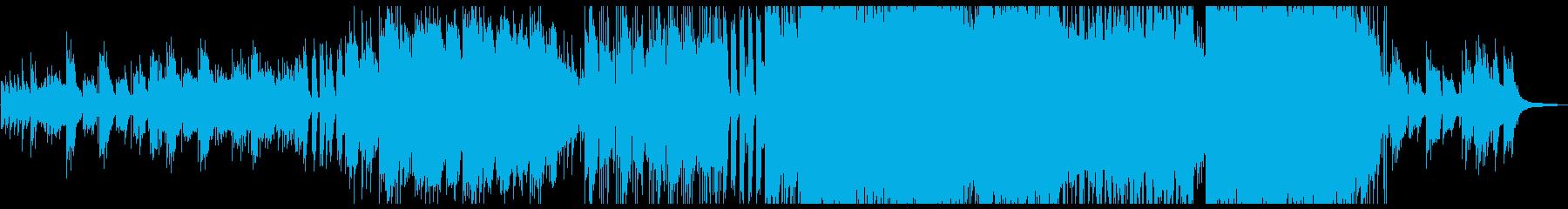 壮大で優しいクリスマスBGMの再生済みの波形