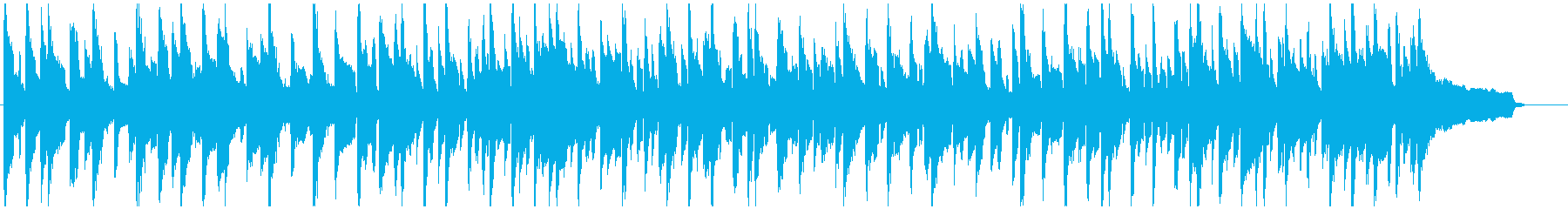 リコーダー、ゆるいカートゥーン系ブルースの再生済みの波形