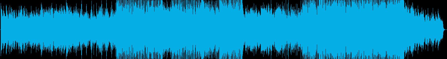 浮遊感と疾走感ある生演奏サックスインストの再生済みの波形