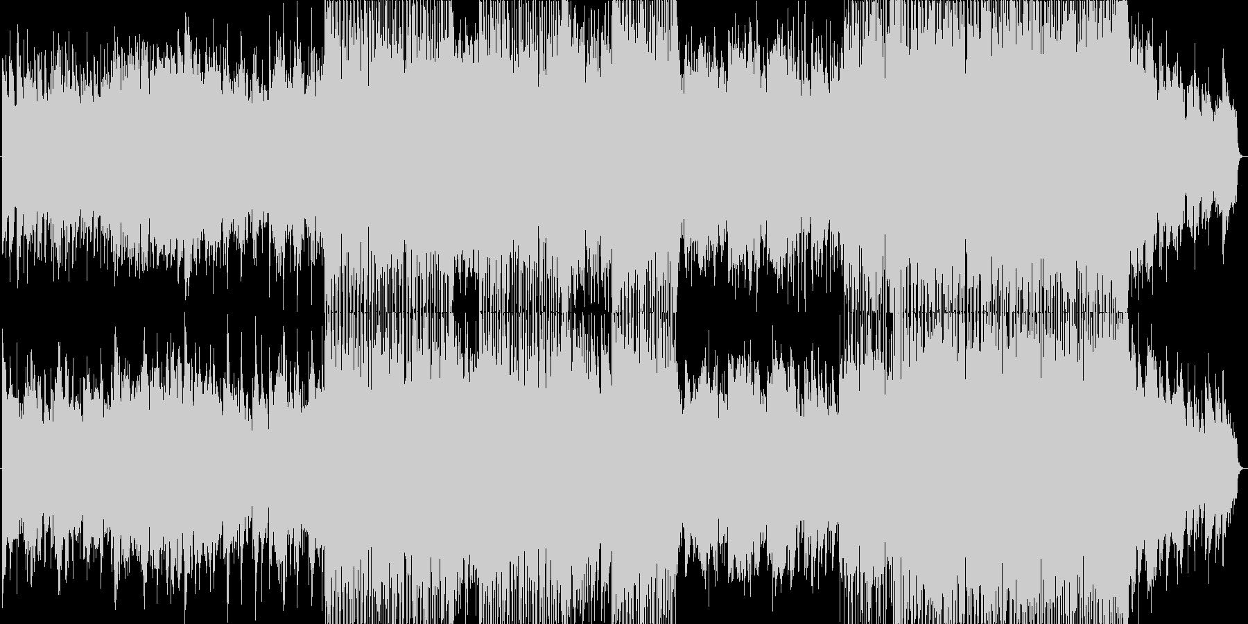浮遊感と疾走感ある生演奏サックスインストの未再生の波形