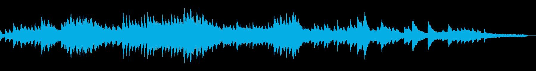 孤独に打ちひしがれる切ないピアノバラードの再生済みの波形