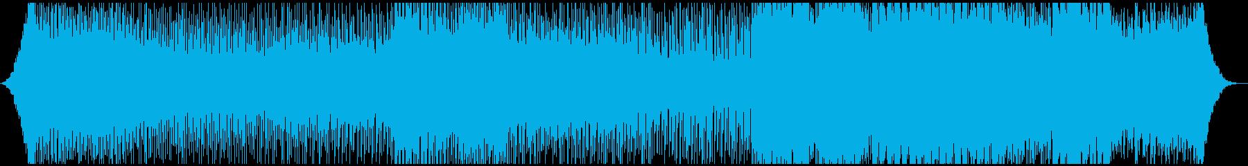 海外ドラマ・サントラ風エレクトロニカの再生済みの波形