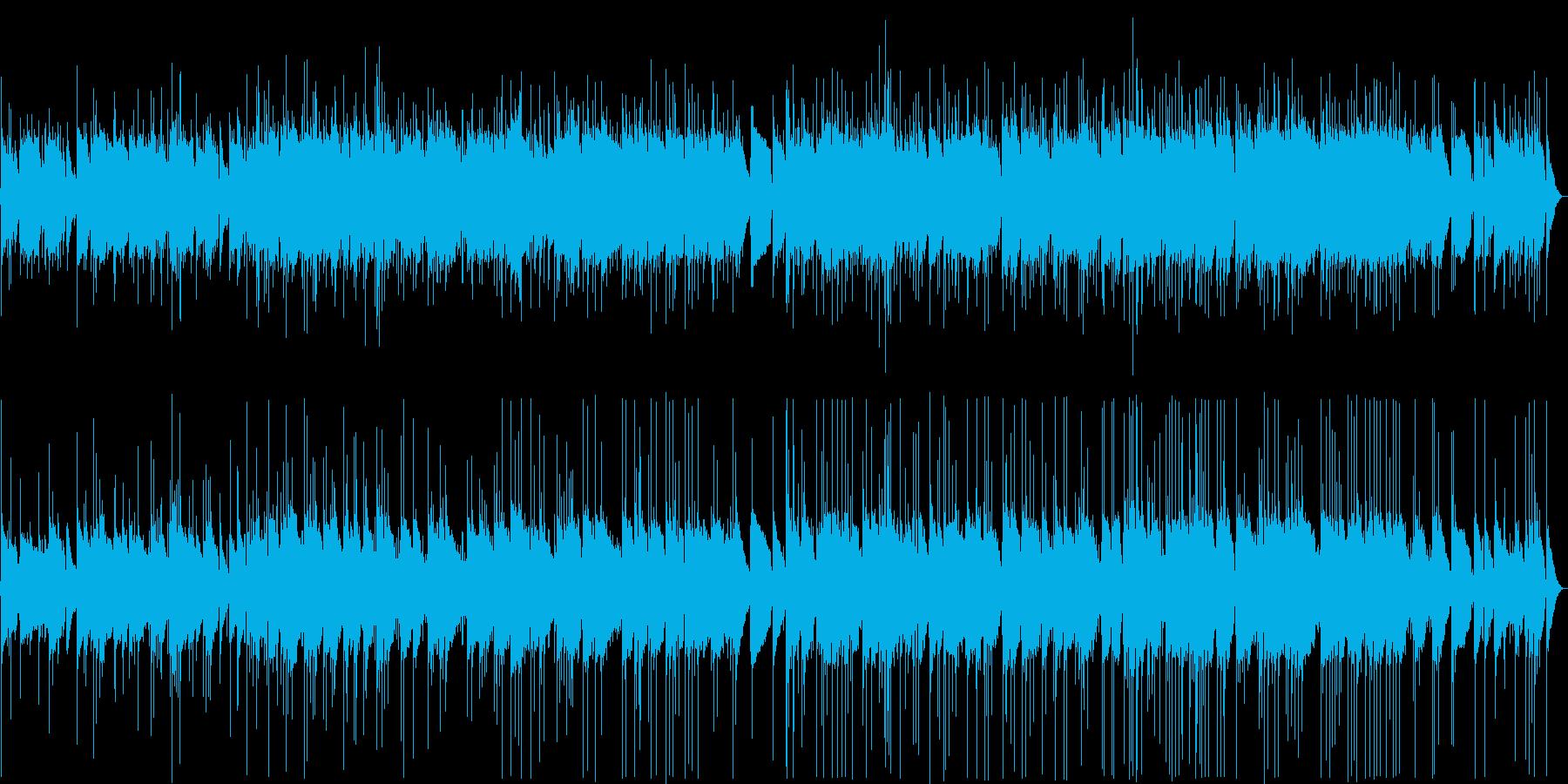 哀愁漂うアコギのイージーリスニングの再生済みの波形